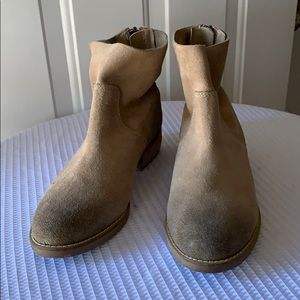 SHELLYS LONDON GENUINE SUEDE ANKLE BOOTS